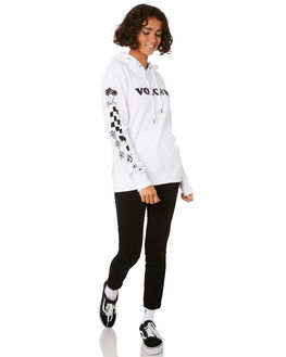 WHITE WOMENS CLOTHING VOLCOM JUMPERS - B3111901WHT