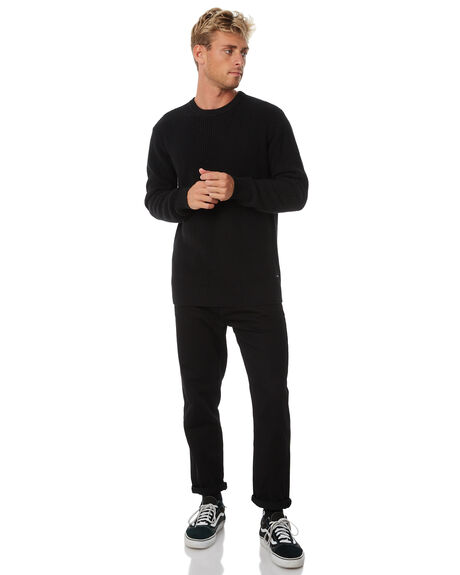 BLACK OUTLET MENS SWELL KNITS + CARDIGANS - S5184147BLACK