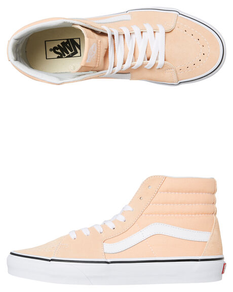 BLEACHED APRICOT OUTLET MENS VANS SNEAKERS - SSVNA38GEU5YPNKM