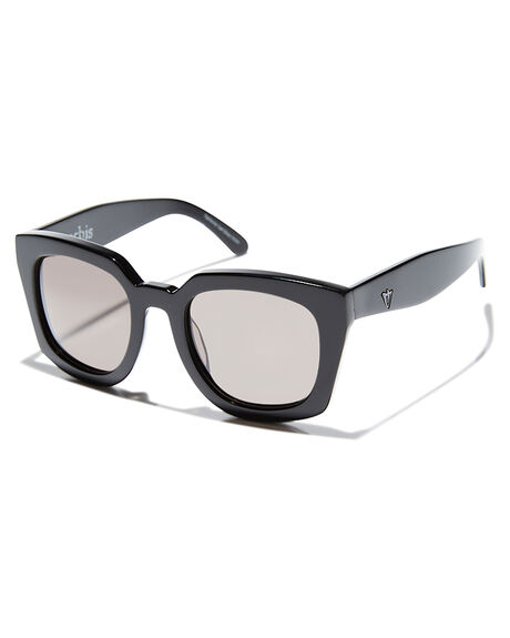 GLOSS BLACK MENS ACCESSORIES VALLEY SUNGLASSES - S0087GBLK