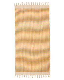 MUSTARD WOMENS ACCESSORIES MAYDE TOWELS - 19CRESMUSMUS