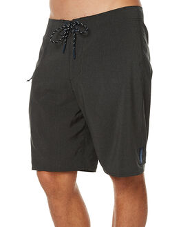 BLACK HEATHER MENS CLOTHING DEPACTUS BOARDSHORTS - AM010008BLKH