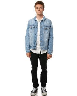 TRASH BLEACH MENS CLOTHING A.BRAND JACKETS - 809183124