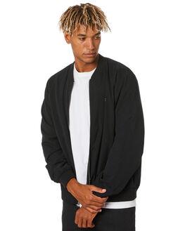 BLACK MENS CLOTHING VOLCOM JACKETS - A1512007BLK