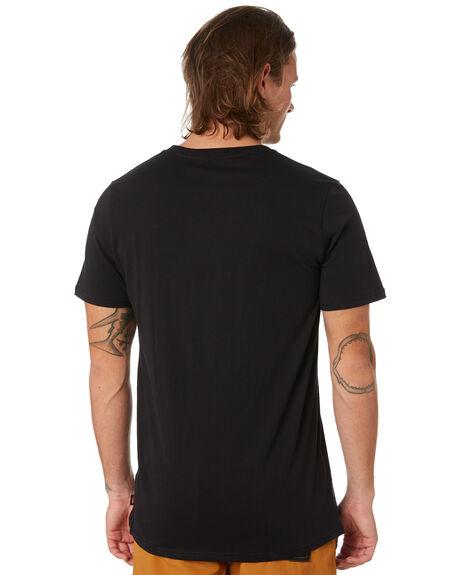 BLACK MENS CLOTHING GLOBE TEES - GB01930033BLK