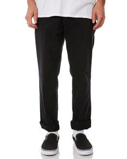 BLACK MENS CLOTHING DR DENIM PANTS - 1730109-101