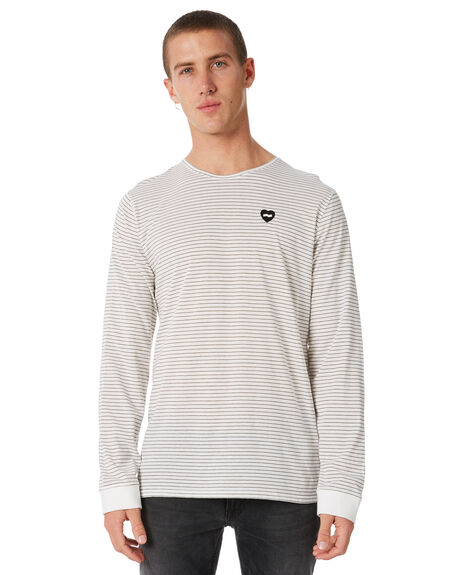OFF WHITE OUTLET MENS BANKS TEES - WLTS0037OWH