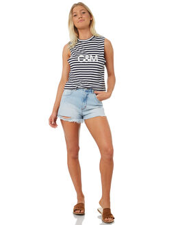 STRIPE WOMENS CLOTHING C&M CAMILLA AND MARC SINGLETS - SCMT6891STR