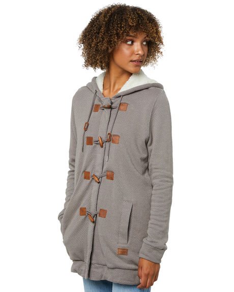 CHARCOAL WOMENS CLOTHING VOLCOM JUMPERS - B4812175CHR