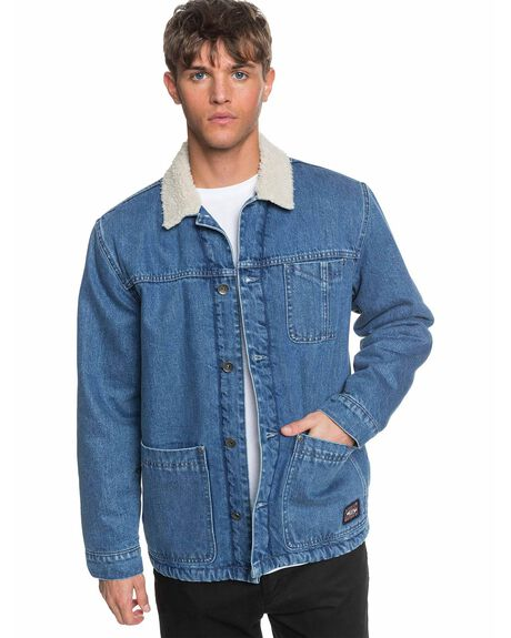 BLUE USED MENS CLOTHING QUIKSILVER JACKETS - EQYJK03561-BYL0