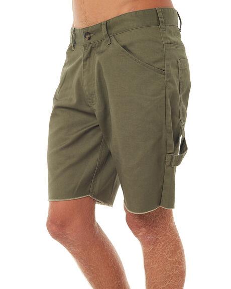 KHAKI MENS CLOTHING AFENDS SHORTS - 09-07-010KHA
