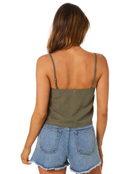 SAVANNA WOMENS CLOTHING RUSTY FASHION TOPS - WSL0686-SAV