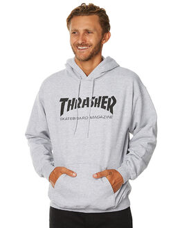 GREY MENS CLOTHING THRASHER JUMPERS - 312671GRYH