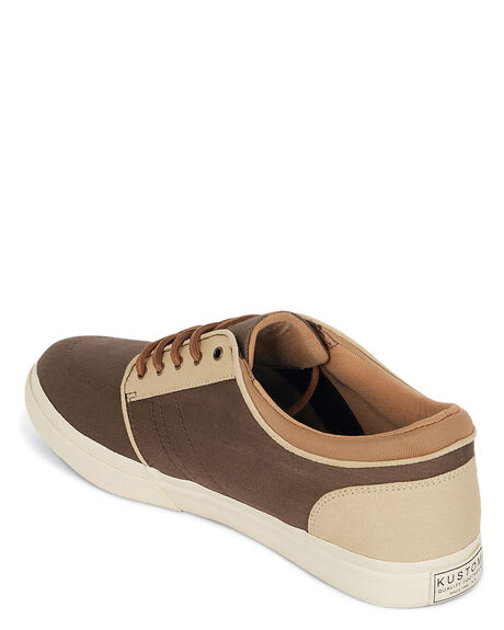 SHITAKE BONE MENS FOOTWEAR KUSTOM SNEAKERS - KS-4991103-2SB