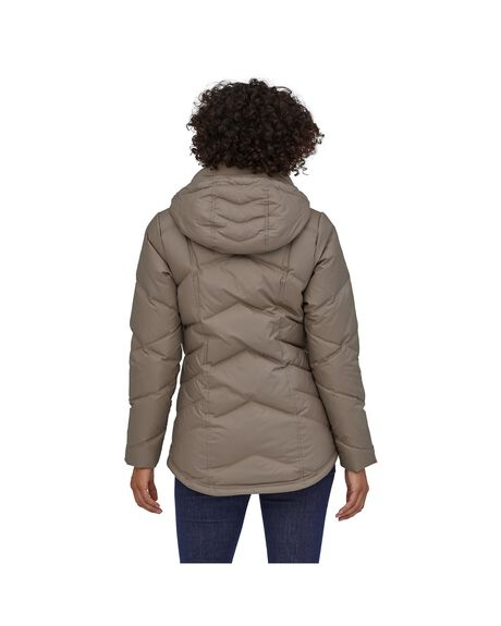 FURRY TAUPE WOMENS CLOTHING PATAGONIA JACKETS - 28041-FRYT-XS