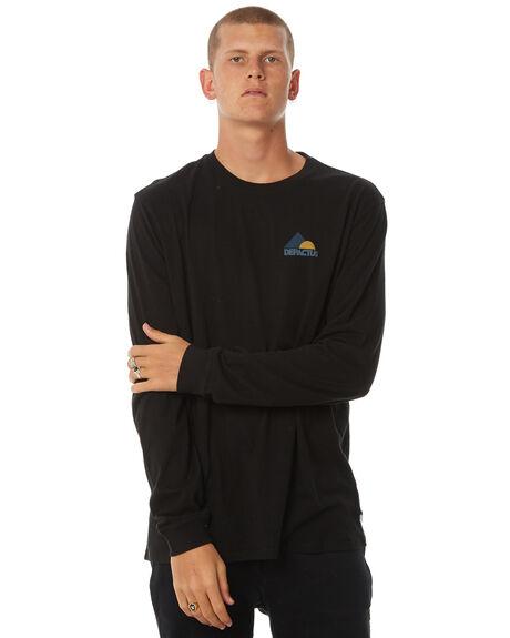 BLACK MENS CLOTHING DEPACTUS TEES - D5184103BLACK