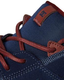 DARK BLUE WOMENS FOOTWEAR DC SHOES SNEAKERS - ADJS200004DBL