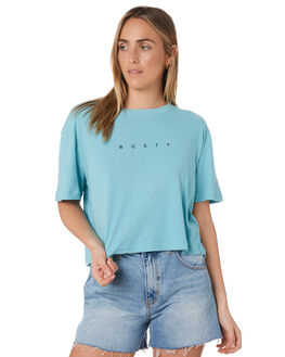STILL WATER WOMENS CLOTHING RUSTY TEES - TTL1038SWR