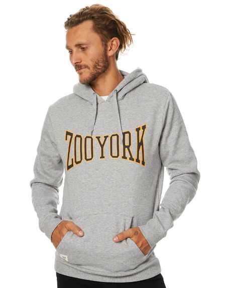 GREY MENS CLOTHING ZOO YORK JUMPERS - ZY-MFB7011GRY