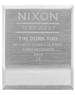 BLACK MENS ACCESSORIES NIXON WATCHES - A1266-000