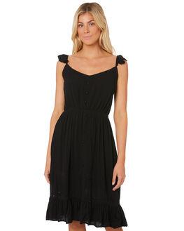 BLACK WOMENS CLOTHING SASS DRESSES - 12953DWSSBLACK