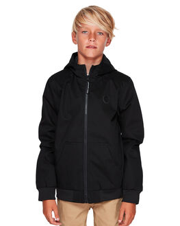 BLACK KIDS BOYS DC SHOES JUMPERS + JACKETS - EDBJK03044-KVJ0