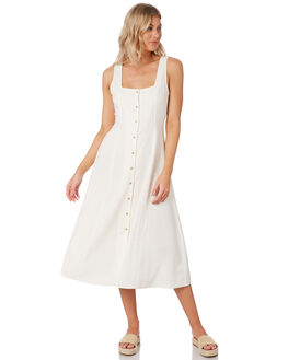 VINTAGE WHITE WOMENS CLOTHING ROLLAS DRESSES - 13241006