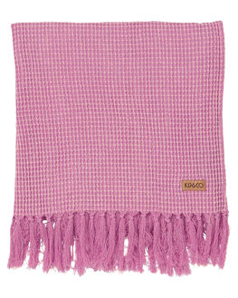 BOYSENBERRY WOMENS ACCESSORIES KIP AND CO TOWELS - SS18148BOYS