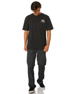 BLACK MENS CLOTHING VOLCOM TEES - A4331906BLK