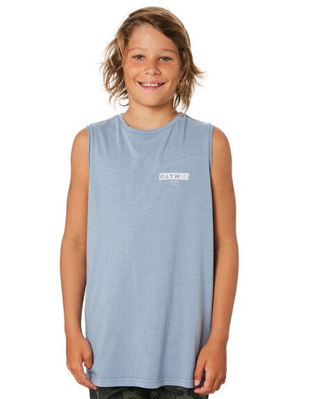 BLUE KIDS BOYS ST GOLIATH TOPS - 2421011BLU