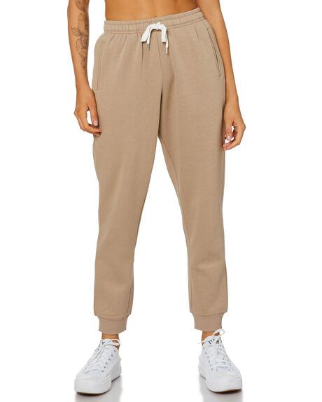 MOCHA WOMENS CLOTHING NUDE LUCY PANTS - NU23845MOCHA