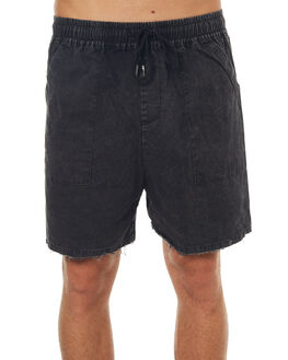 BLACK ACID MENS CLOTHING THE PEOPLE VS SHORTS - HS17069BKAC