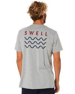 GREY MARLE MENS CLOTHING SWELL TEES - S5184013GRYMA