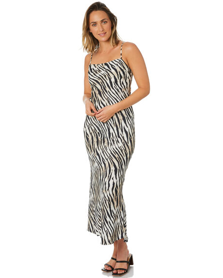 NATURAL WOMENS CLOTHING TIGERLILY DRESSES - T303455NAT