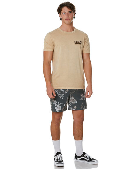 HUMUS MENS CLOTHING RUSTY TEES - TTM2419HMS