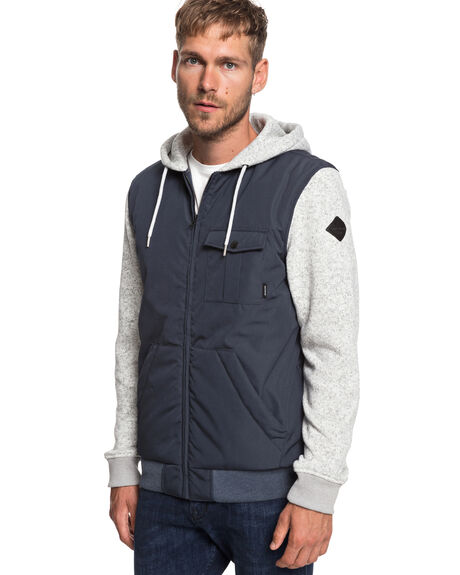 BLUE NIGHTS MENS CLOTHING QUIKSILVER JACKETS - EQYJK03459-BST0