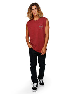 OXBLOOD MENS CLOTHING BILLABONG SINGLETS - BB-9592503-OX2