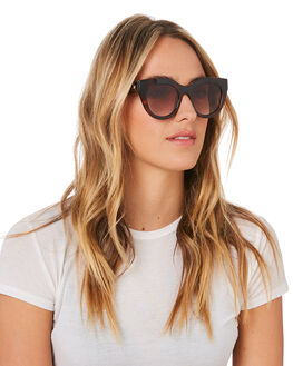 TOFFEE TORT WOMENS ACCESSORIES LE SPECS SUNGLASSES - LSP1902130TTORT