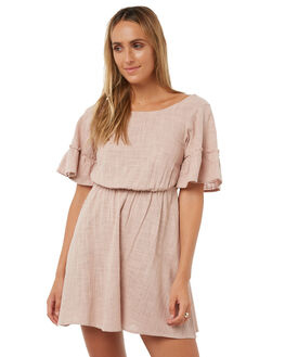 PALE MAUVE WOMENS CLOTHING BILLABONG DRESSES - 6572472MAU