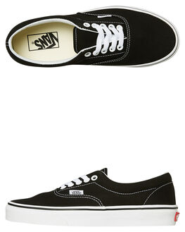 BLACK MENS FOOTWEAR VANS SKATE SHOES - SSVN-0EWZBLKM
