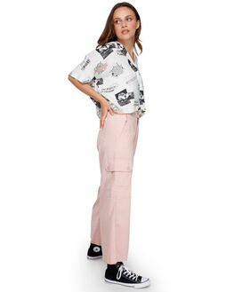 ROSE BLUSH WOMENS CLOTHING RVCA PANTS - RV-R291271-RSB