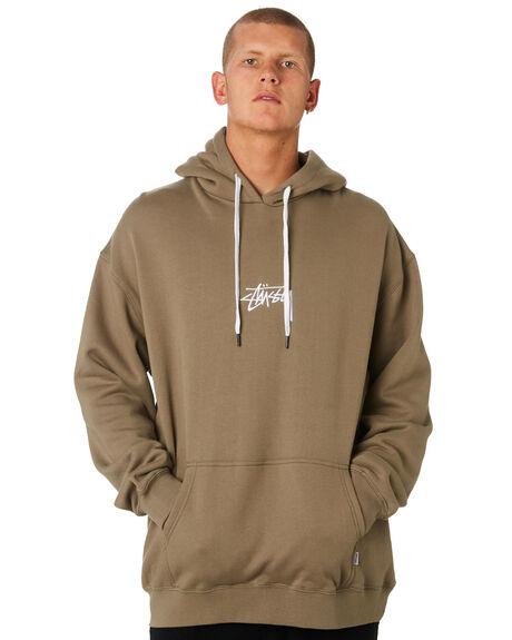MUSHROOM MENS CLOTHING STUSSY JUMPERS - ST095202MUSH