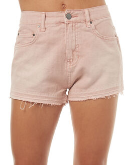 PALE MAUVE OUTLET WOMENS BILLABONG SHORTS - 6572282PAL