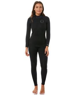 BLACK BLACK SURF WETSUITS PEAK STEAMERS - PK630L1619
