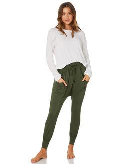 OLIVE WOMENS CLOTHING BETTY BASICS PANTS - BB505W20OLV