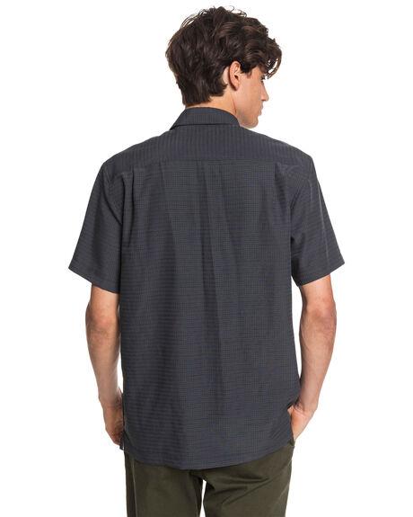 BLACK CENTINELLA MENS CLOTHING QUIKSILVER SHIRTS - EQMWT03232-KVJ1