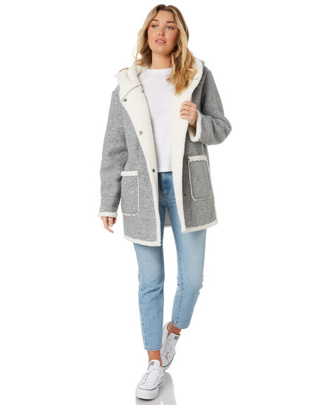 GREY MARBLE WOMENS CLOTHING SWELL JACKETS - S8171381GRYMB