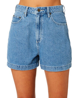 REFINED BLUE WOMENS CLOTHING LEE SHORTS - L656745LO4