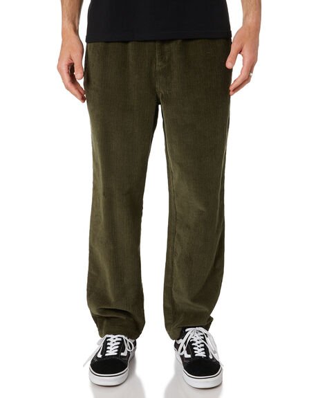 WASHED ARMY MENS CLOTHING MISFIT PANTS - MT016601WARM