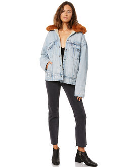 KILLING ME SOFTLY WOMENS CLOTHING LEVI'S JACKETS - 57896-0000KILL